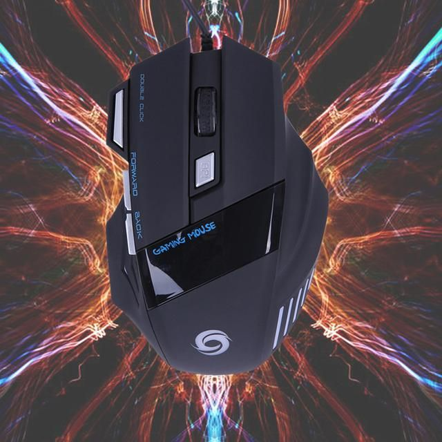 5500 DPI 7 Button LED Optical USB Wired Gaming Mouse Mice For Pro Gamer Perfect