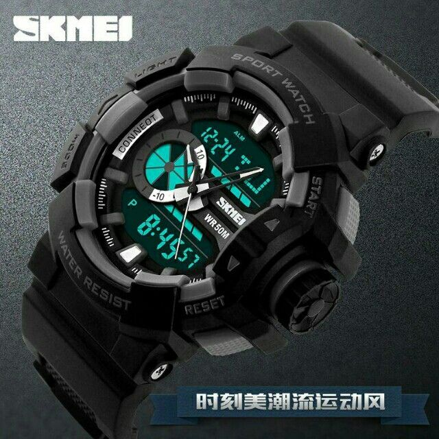 Saya menjual Jam tangan SKMEI AD1117 seharga Rp125.000. Dapatkan produk ini hanya di Shopee! {{product_link}} #ShopeeID