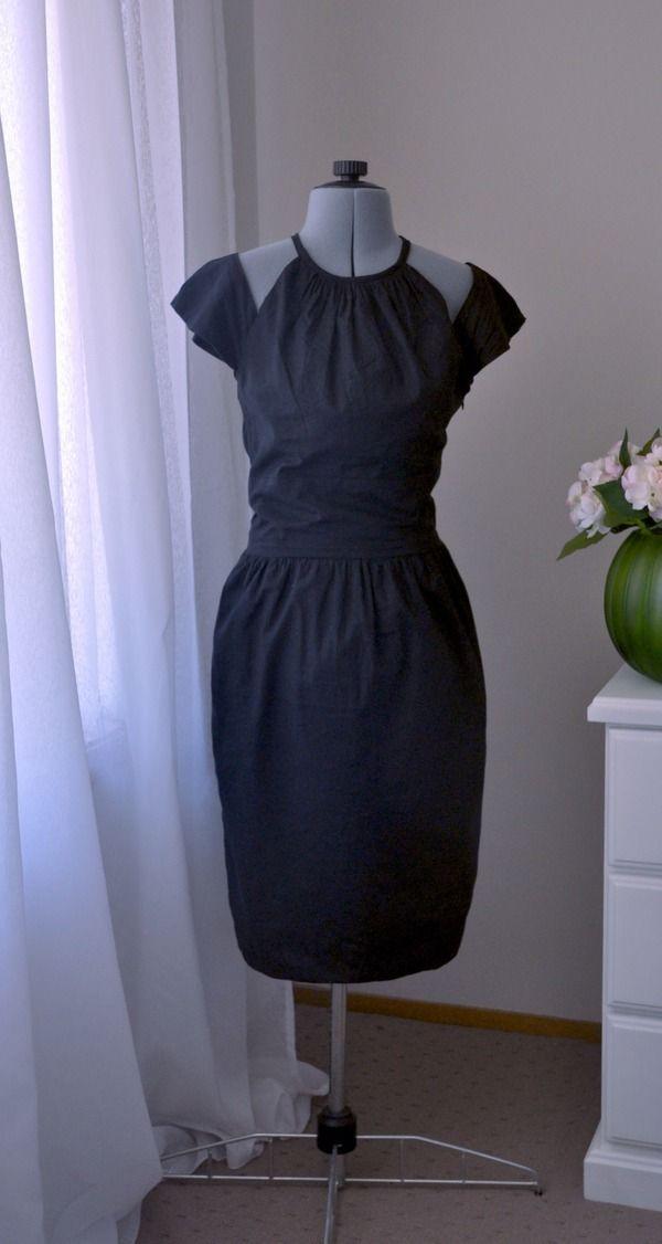 patron couture robe tango