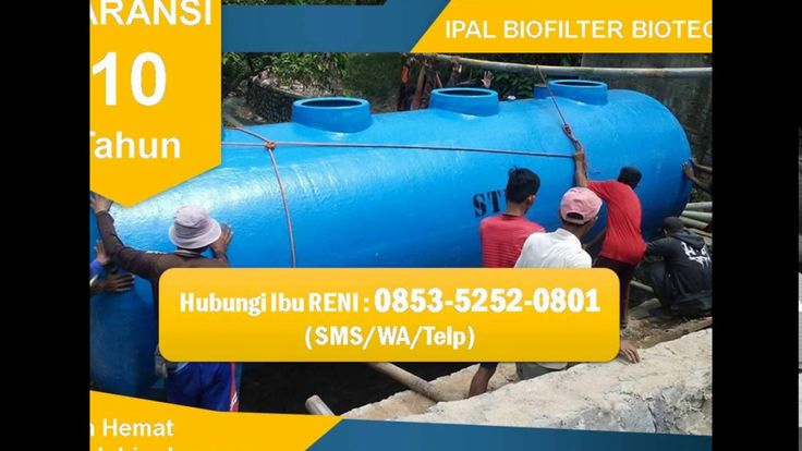 IPAL BIOFILTER | BIOTECH Septic Tank di Bandung | 0853-5252-0801