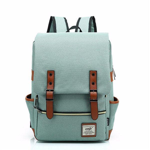 Men Women For 11''13''15'' MacBook Pro Laptop Classic Oxford Backpack Travel School Shoulder Bags