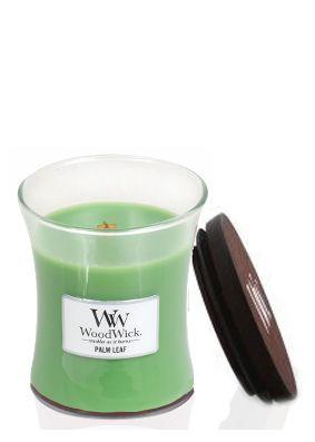 Woodwick Palm Leaf Medium Jar Candle