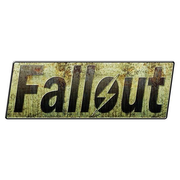 The Fallout logo really embodies the rustic and wastelandish nature of the game and series.