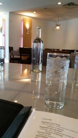 Water all around, Sukhothai Restaurant | 191 Osborne Street, Winnipeg, Manitoba, Canada