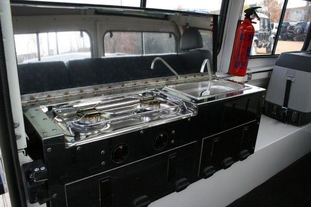 110 Dormobile cooker open