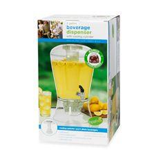 CreativeWare™ 3-Gallon Beverage Dispenser with Infuser - Bed Bath & Beyond