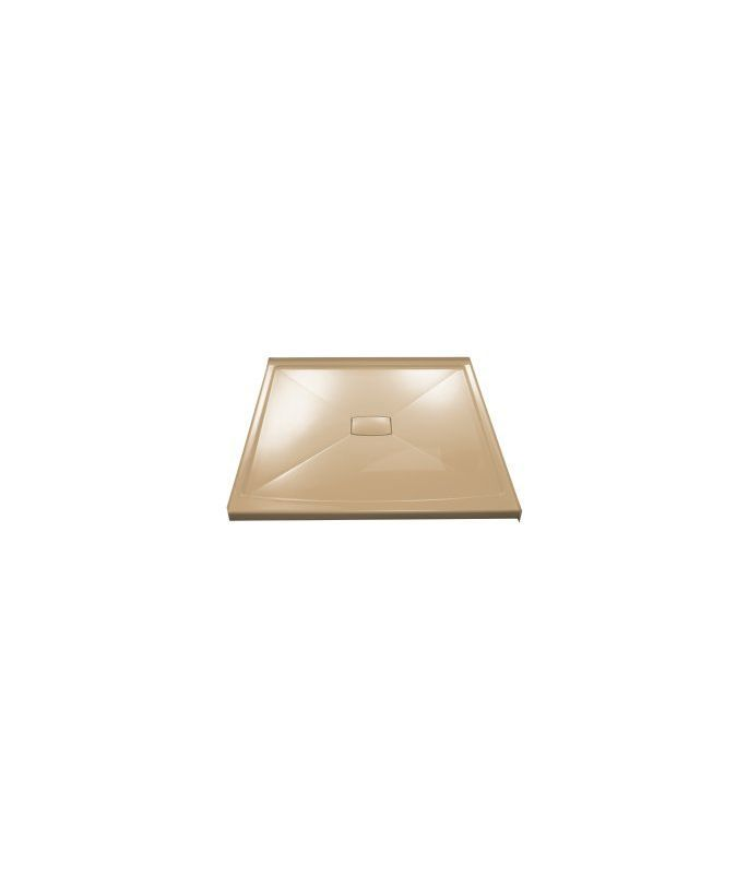 Kohler K-9395 Center Drain Shower Receptor from the Archer Series Mexican Sand Showers Shower Pans Single Threshold