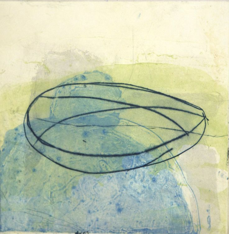 Mary A. Fitzgerald - Boat http://www.sofinearteditions.com/mary-fitzgerald/ #print #drypoint #carborundum #abstract #art