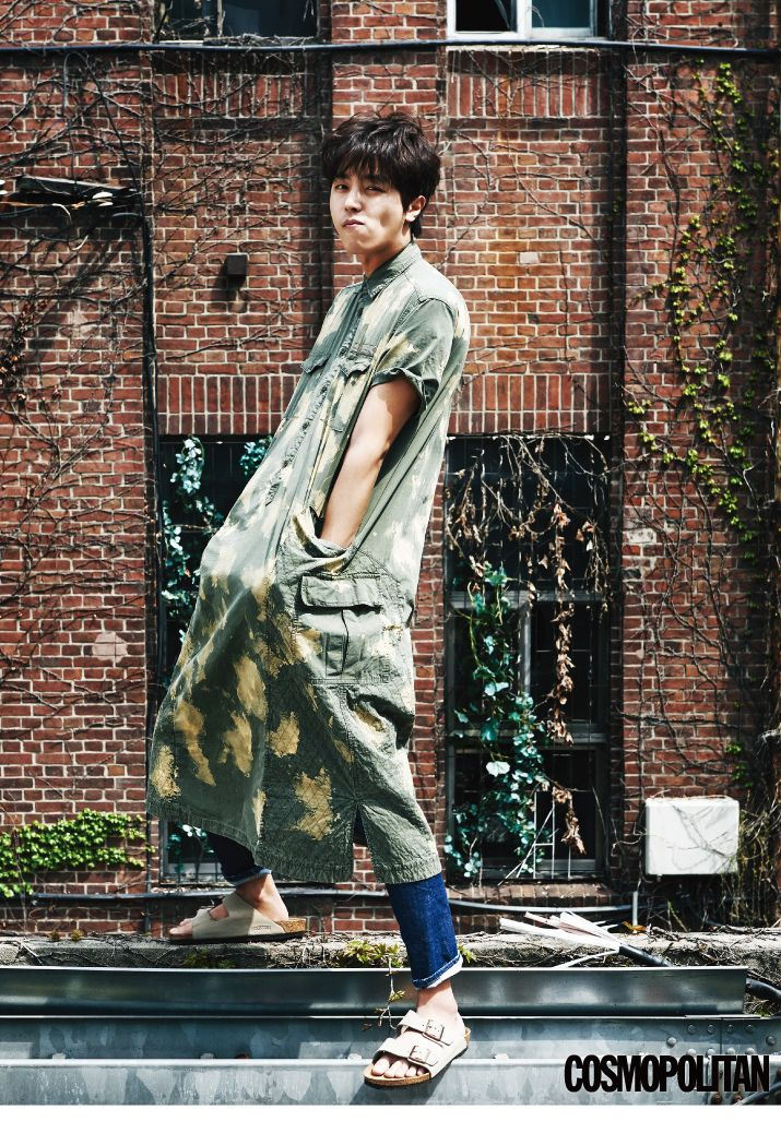Yun Woo Jin - Cosmopolitan Magazine May Issue '15