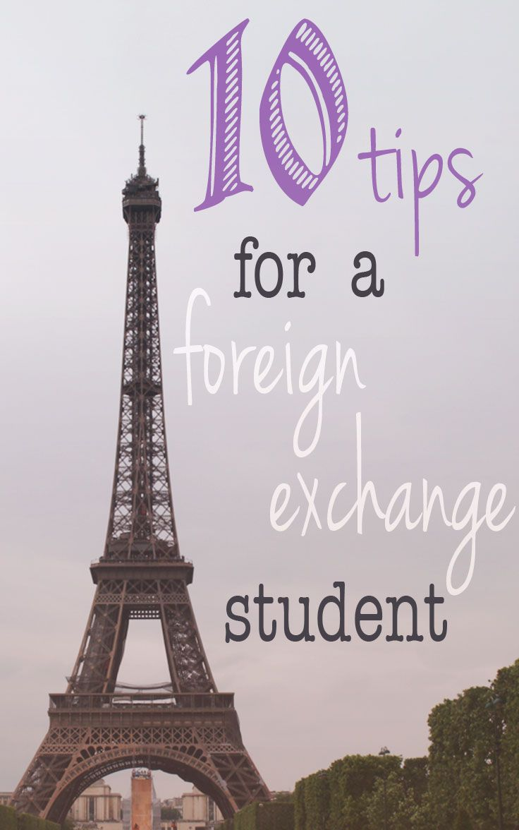 Anne Louise: 10 Tips for a Foreign Exchange Student