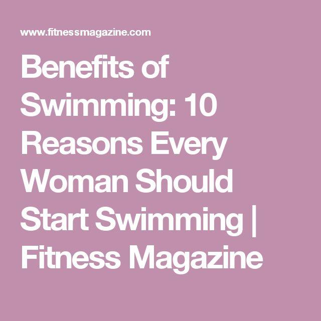Benefits of Swimming: 10 Reasons Every Woman Should Start Swimming | Fitness Magazine