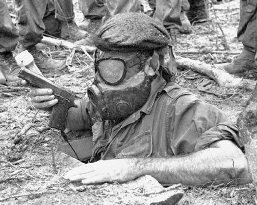 U.S. Army tunnel rat in Vietnam