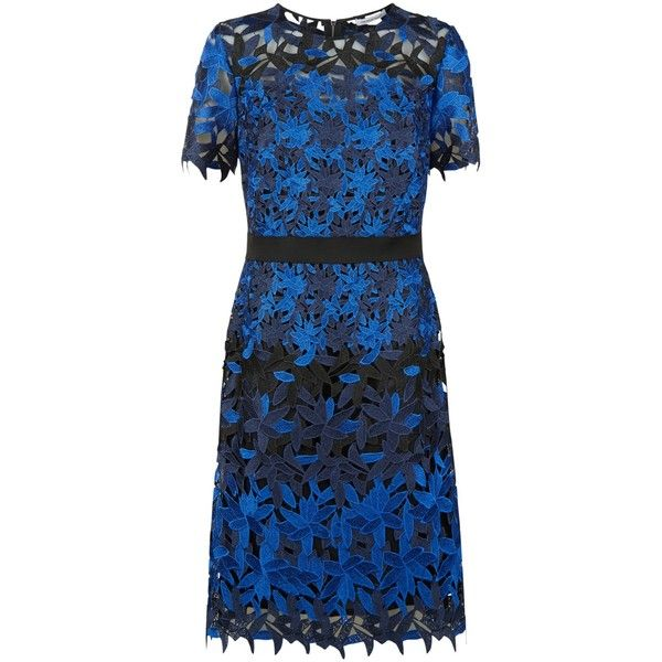 Fenn Wright Manson Planet Dress, Black/Blue ($120) ❤ liked on Polyvore featuring dresses, blue floral dress, long-sleeve floral dresses, long-sleeve mini dress, short-sleeve dresses and blue maxi dress