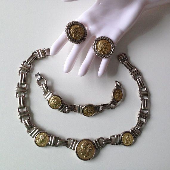 Vintage Rare Ben-Amun Coin Set by socallrare on Etsy