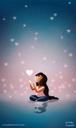 love in reach | Everyday Love blog | the art of Nidhi Chanani