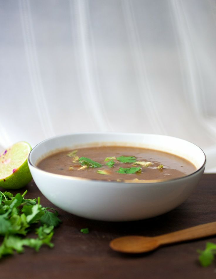 Black Bean & Sweet Potato Superfood Soup | Powder, Cabbages and Black ...