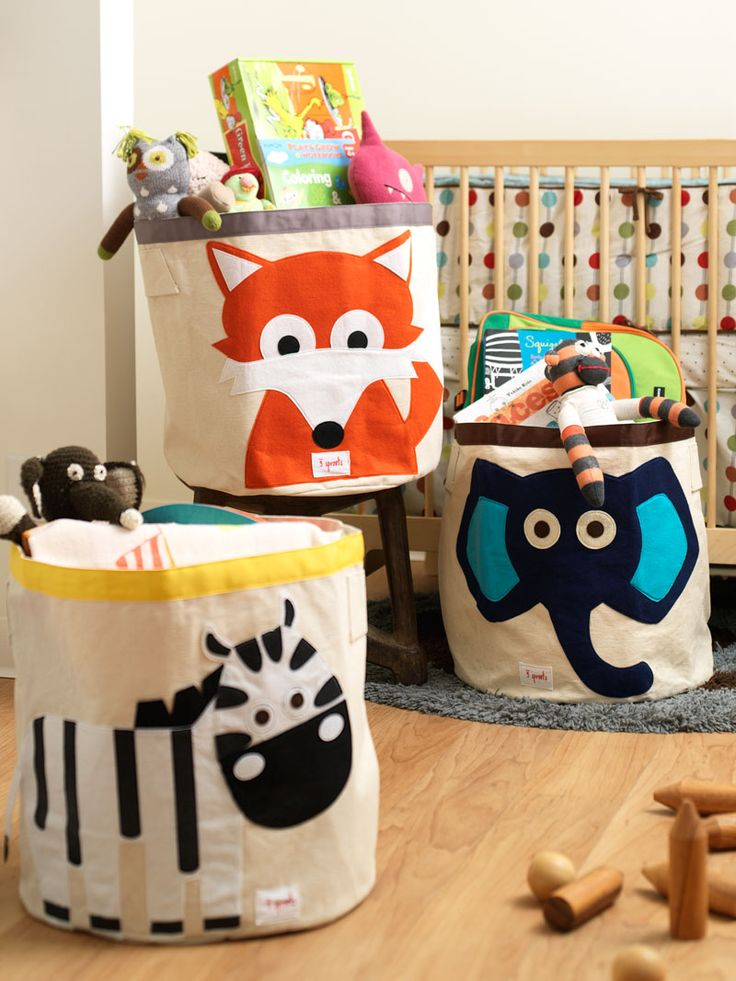 Storage for all (choose from elephant, bear, squirrel, raccoon, owl, monkey, zebra, fox and hippo $32.00)