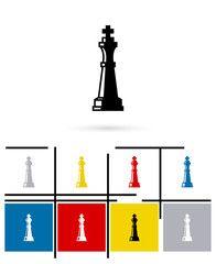 Шахматная королева значок или шахматная королева знак.  Вектор шахматы королева пиктограмма или символ королева шахмат