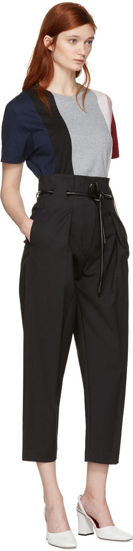 3.1 Phillip Lim - Black Origami Pleated Trousers #OrigamiLife