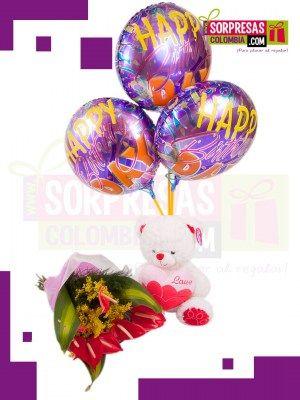 EXOTICA Sorprende con estas hermosas y especiales FLORES que enamorara una vez mas a esa persona especial. Visita nuestra tienda online www.sorpresascolombia,com o comunícate con nosotros 3003204727 - 3004198