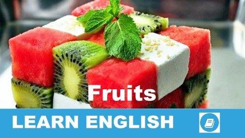 A Fruits (gyümölcsök) angol szókincs témakörről szóló hangos-képes szókártyák sorozat első része. A videóhoz tartozó szójegyzék tartalmazza a magyar jelentéseket is