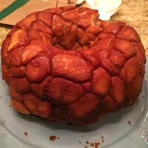 Fun to make and even more fun to eat, everyone goes bananas over sticky sweet monkey bread.  Allrecipes.com