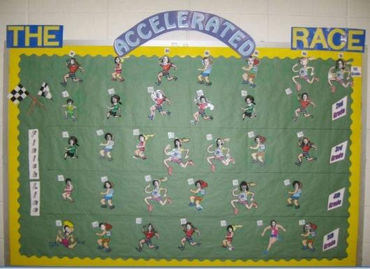 The Accelerated Race: Teaching Ideas, Bulletin Boards, Teacher Ideas, Ar Boards, Boards Ideas