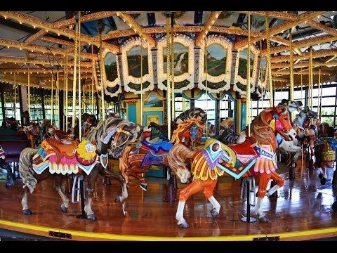 The Historic Carousel at Seattle's Woodland Park Zoo (+playlist)
