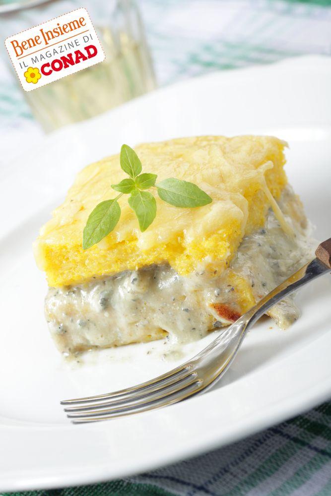 Comfort food: ovvero, cibo che consola.  E quale cibo è più di conforto, se fuori fa molto freddo? Clicca sulla foto per la #ricetta di Conad Bene Insieme: #polenta con crema di gorgonzola :)