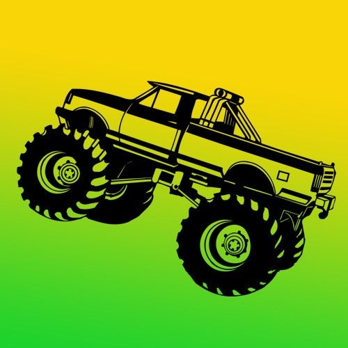 77 best sticker decal monster truck images on Pinterest | Boy rooms ...