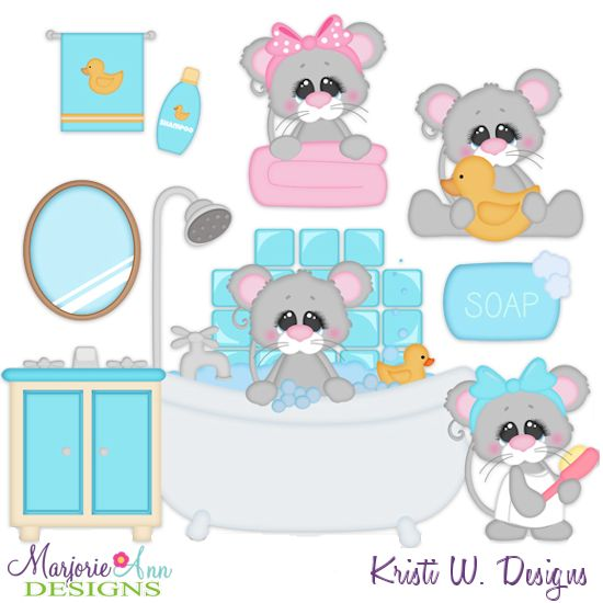 Squeaky Clean Mice SVG-MTC-PNG plus JPG Cut Out Sheet(s) Our sets also include clipart in these formats: PNG & JPG