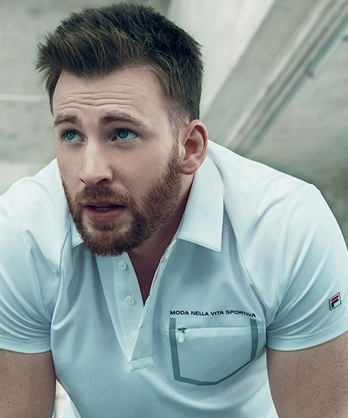 Chris Evans for FILA Red Line Autumn/Winter Sportswear 2016