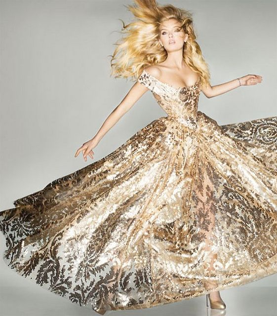 {fashion inspiration | editorial : olympics edition, vogue uk by nick knight} by {this is glamorous}, via Flickr
