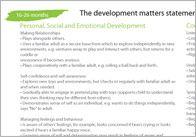 2 Year Old Check Development Matters Statements