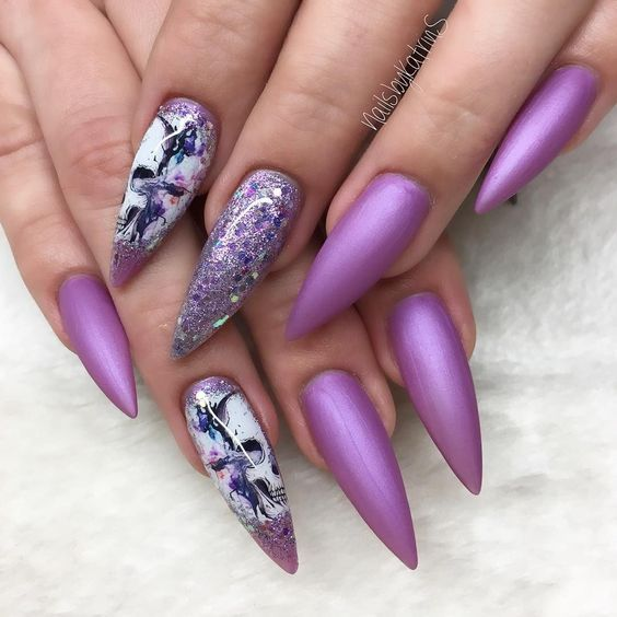 40 stilvolle kurze Sarg Nail Art Designs – Nails