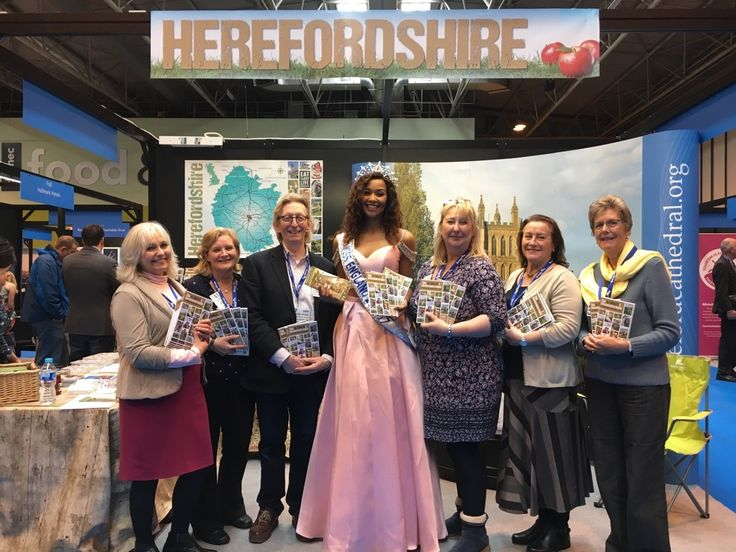 Miss England becomes Miss Herefordshire at Tourism & Travel Show » Eat. Sleep, Live Herefordshire