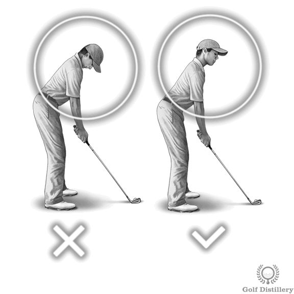 Where (How) to Position the Ball At address, the ball will be located in front of you, somewhere in between your two feet. It will normally be located in the middle when using a short iron and progressively towards the front foot as the length of the club increases. The ball will be located away from your body … Continue reading Setup & Address Illustrated Checklist & Tips