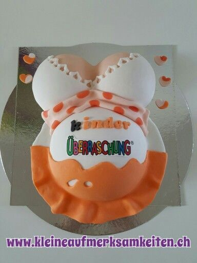 Baby belly cake