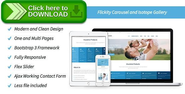 Free Nulled Insurance Agency Html Website Template Download Business Car