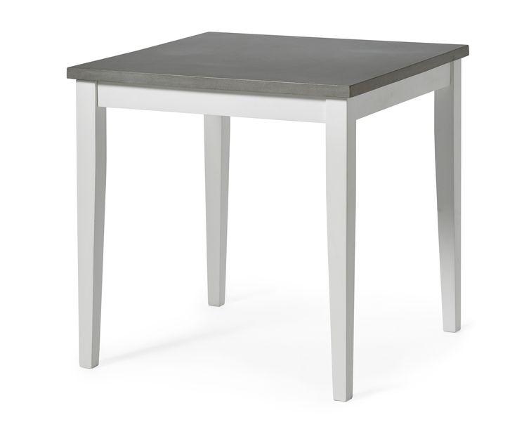 Sara är ett matbord i romantisk-skandinavisk stil med tuffare uttryck. Skivan är i lättskött komposit med betongkänsla. Komposit är ett gjutet material som är lättare och mer hållbart än betong, detta gör att varje skiva är unik. Sara matbord kan du kombinera med de flesta av våra stolar för att få en matgrupp som passar just ditt hem. Sara finns även som soffbord och tv-bänk. Kompositskivan behöver behandlas med sprayvax två gånger innan bordet används för bästa hållbarhet.
