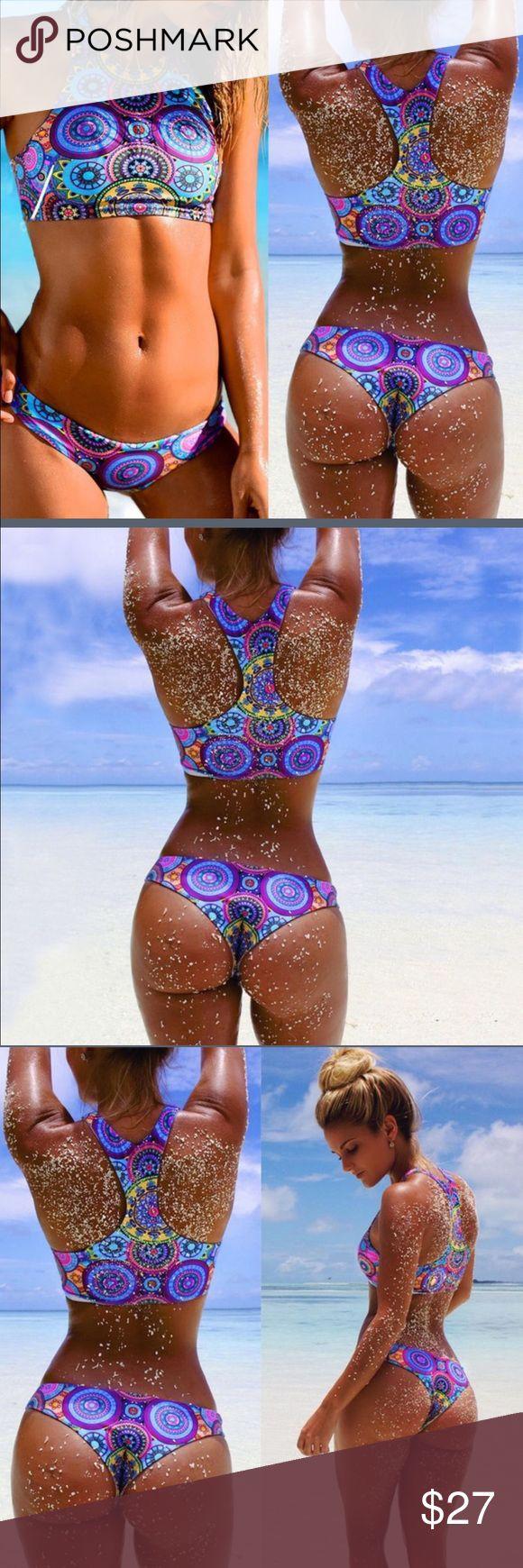 Sexy Woman Bandage Bikini Swimsuit Sexy Women Bandage Bikini Set Swimsuit Swimwear Bathing Suit 2pcs Set Floral Beachwear  Fashion design,100% Brand New,high quality! Material: 18% Spandex, 82% Polyamid Swim Bikinis
