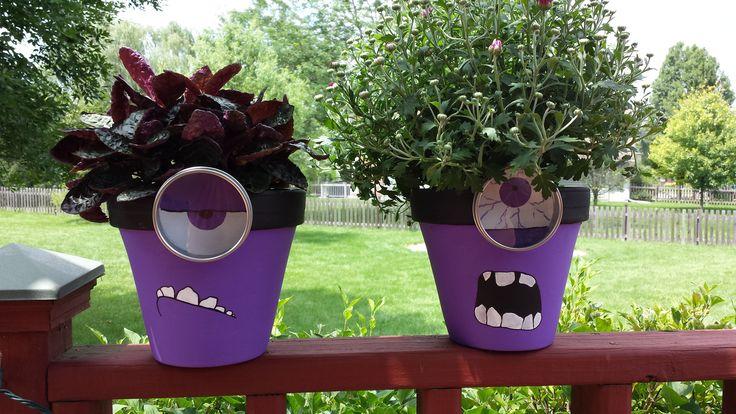 Evil Minion Flower Pots