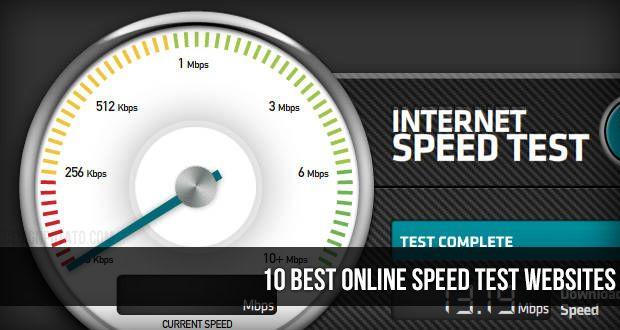 10 Best Online Speed Test Websites