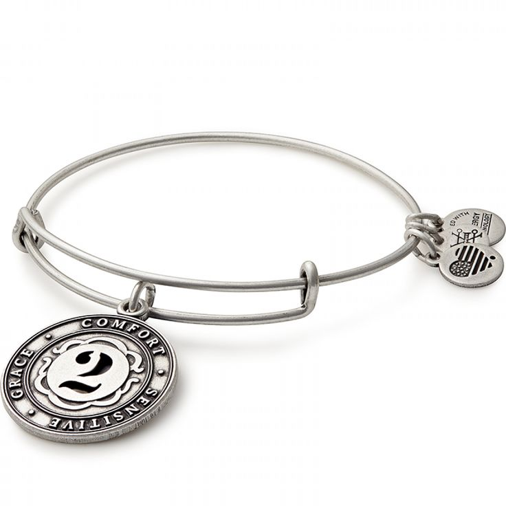 Does the number 2 mean something to you? Every number has it's own unique meaning! Shop the Number 2 Charm Bangle at ALEX AND ANI!