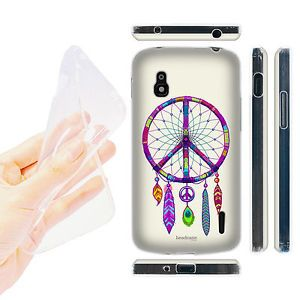 HEAD-CASE-CATCHER-PEACE-EMBLEMS-GEL-BACK-CASE-COVER-FOR-LG-NEXUS-4-E960