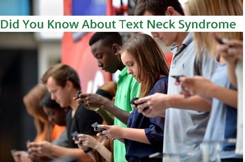 Have you heard of #TextNeck ? The newest phenomenon emerging as a result of too much texting.