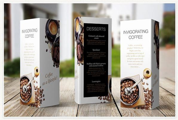 Double Sided Tent Card Template New Table Tent Card Three Side In 2020 Table Tents Restaurant Menu Template Tent Cards