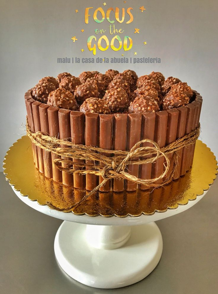 Ferrero Cake [totalmente chocolate]