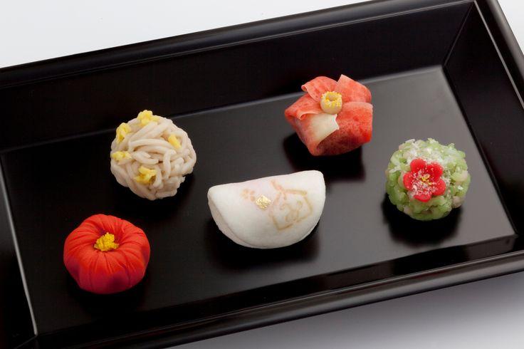 京都茶寮 1月の和菓子