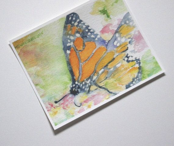 Monarch Butterfly Print Monarch Butterfly di SycamoreWoodStudio